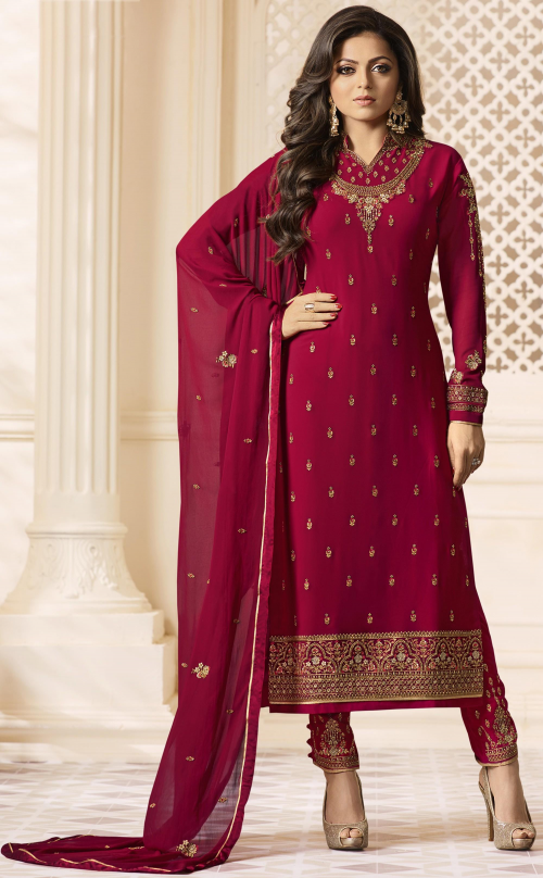 Georgette Salwar kameez for women
