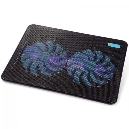 Black Cat Notebook Cooling Pad