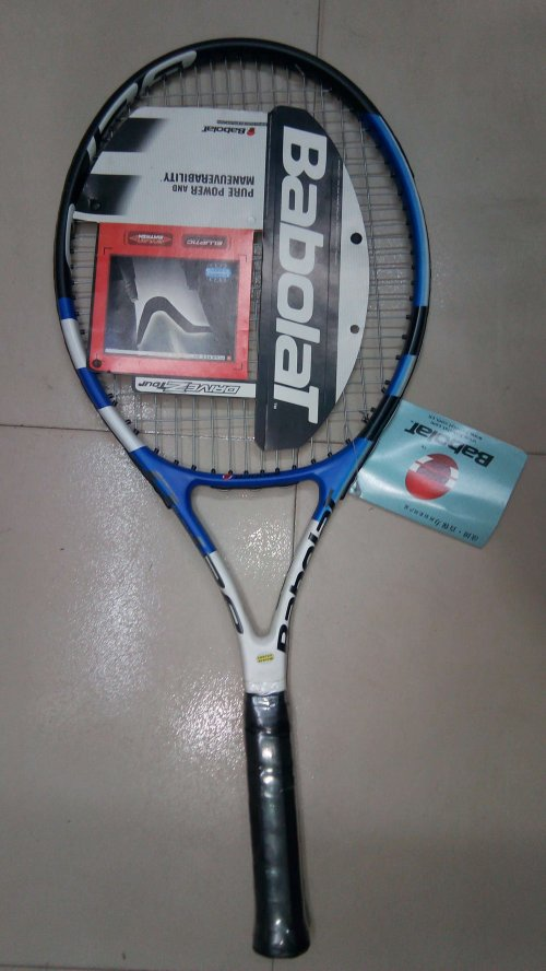 Babolat tennis Racket (blue)