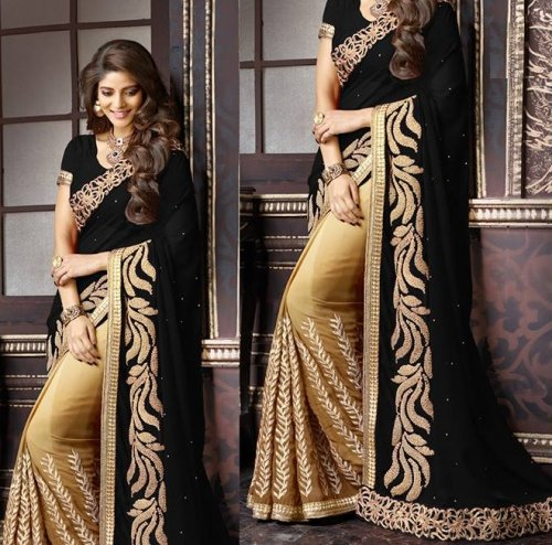 Weight Less Georgette saree SS-245