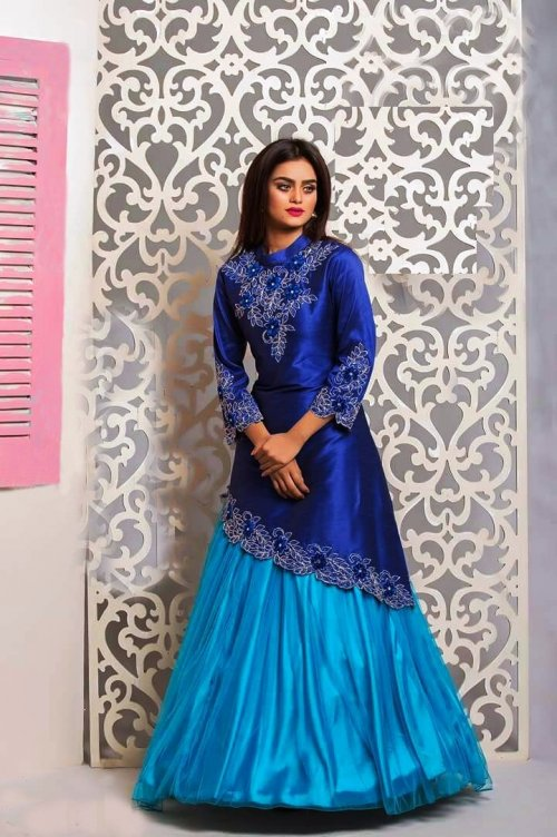 Gown style Salwar suits