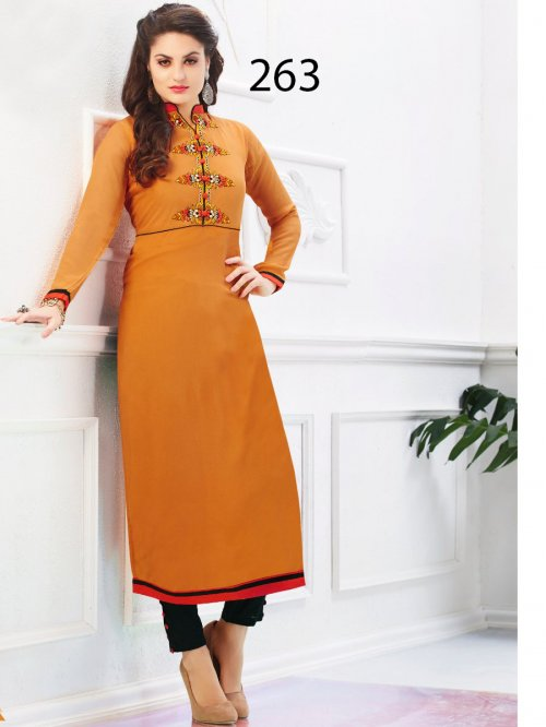 Kurti Latest Designers Kurti party wear ladies salwar suits 263