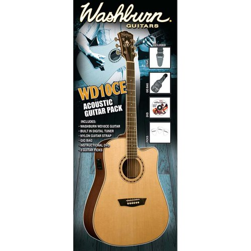 Washburn Acoustic Guitar 10CE