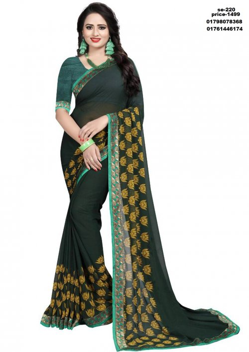 Indian Soft Silk Saree se-210