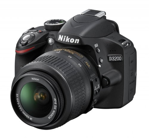 Nikon D3300 with 18-55mm VR kit lens