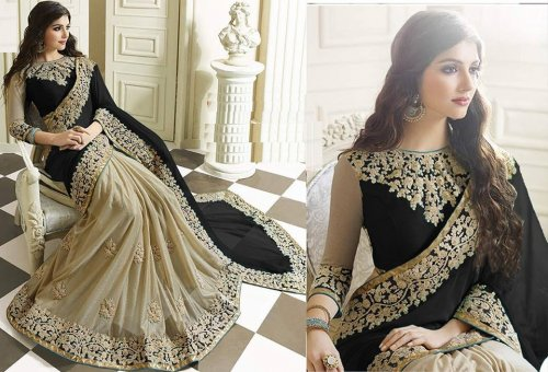Weight Less Georgette saree SS-483