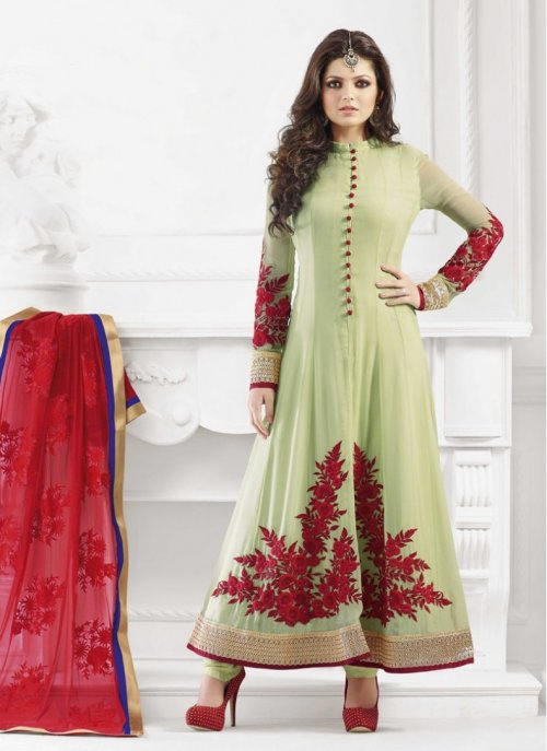 Unstiched Three Piece48009 soft georgette salwar kameez