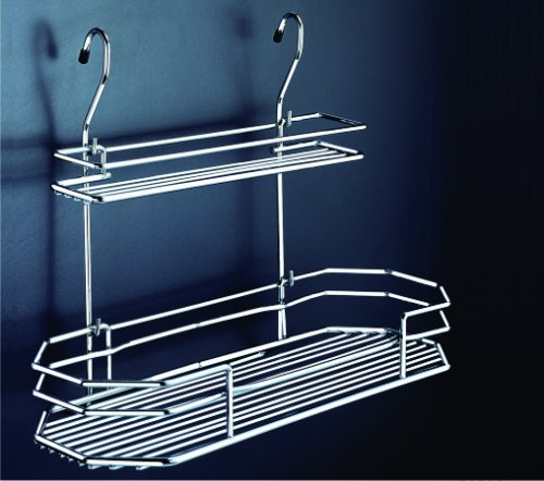 WellMax Adjustable Double Rack