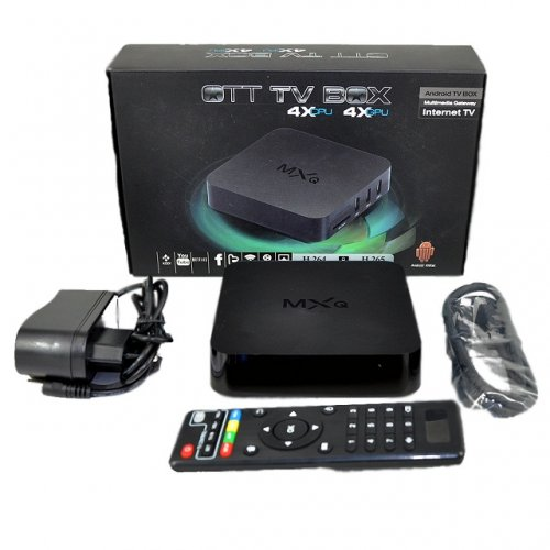 MXQ 4K Androind TV Box