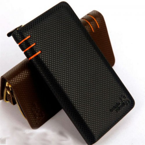 Business Casual Cowhide Men Wallet