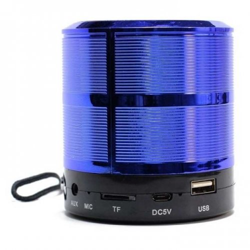 Mini Speaker Yst-888 Bluetooth Sd Usb Aux Fm ( Blue )