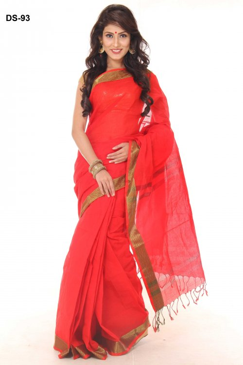 Boishakhi tat cotton Saree Bois-93
