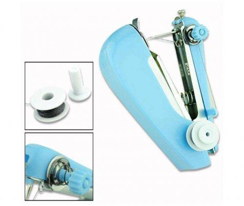 Mini hyānḍi su'iṁ mēśina Handy mini sewing machine