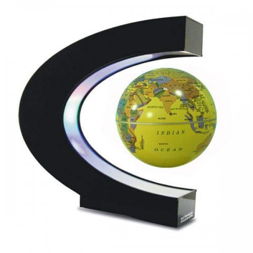 Magic floating Globe with LED Light 2