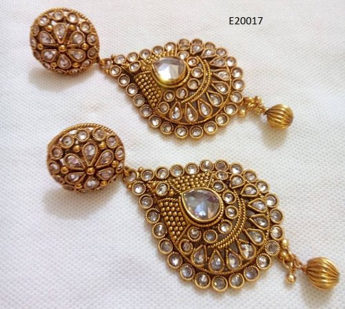 Gold Plated jewelry ornaments Earrings E-20017