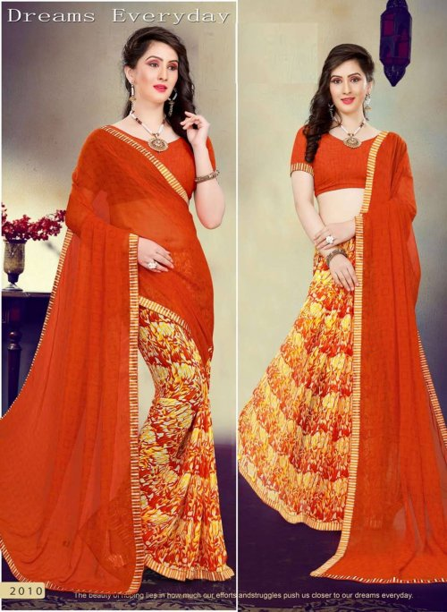 Indian Soft chiffon Saree se-504