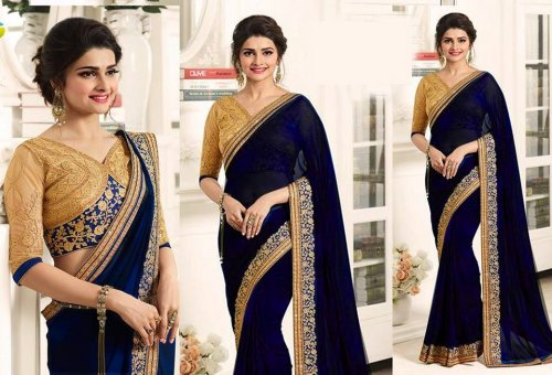 Weight Less Georgette saree SS-574