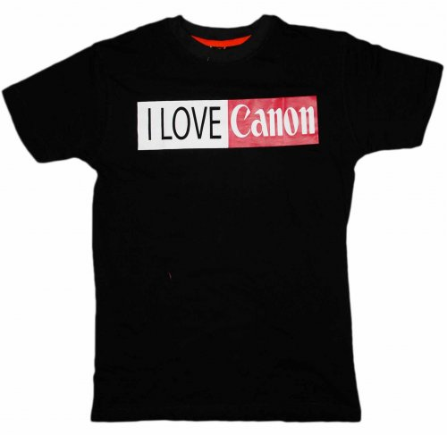 Canon Black T-shirt
