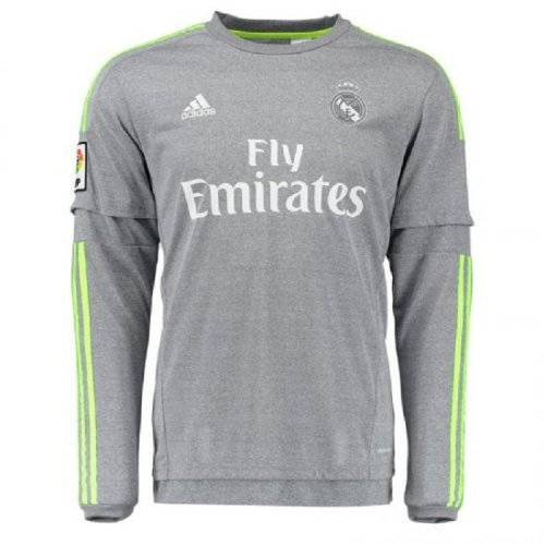 Real Madrid Away Long Sleeve Jersey e05ad4022