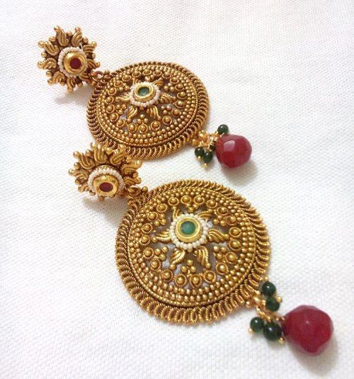 Gold Plated jewelry ornaments Earrings E-20045