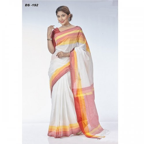 Cotton Tat saree DS-192