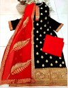 Unstitched Block printed Salwar kameez 778