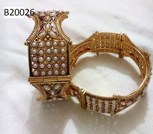 Gold Plated jewelry ornaments Bangles B-20026(screw system)