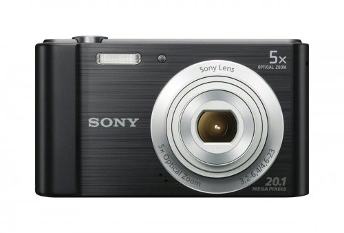 Sony DSCW800 /B 20.1 MP Digital Camera (Black)