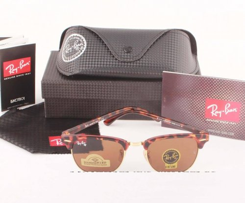 Ray Ban Gents Spotted Brown 3016 Sunglass Replica SW4077