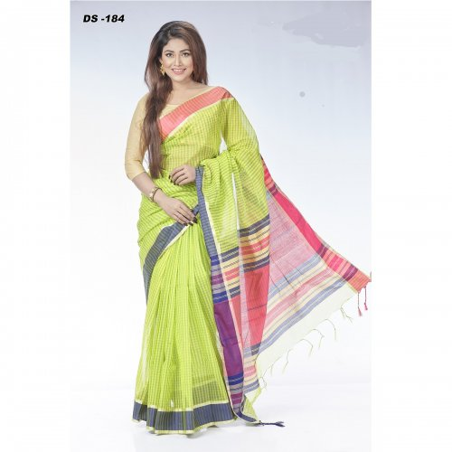 Half Silk saree DS-184