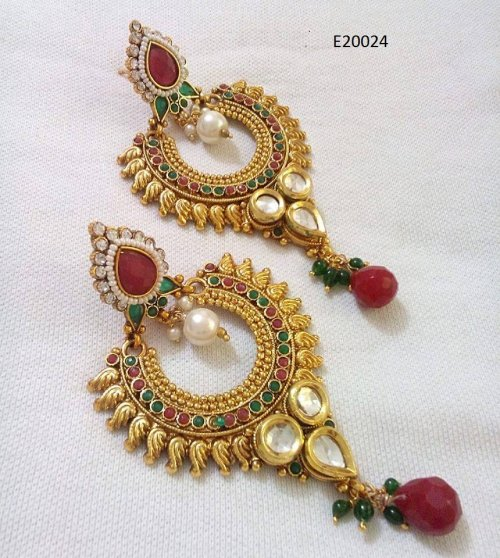 Gold Plated jewelry ornaments Earrings E-20024