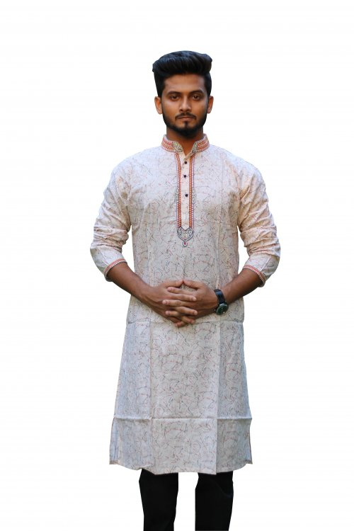 Boisakhi Cotton Punjabi for man BASE_12