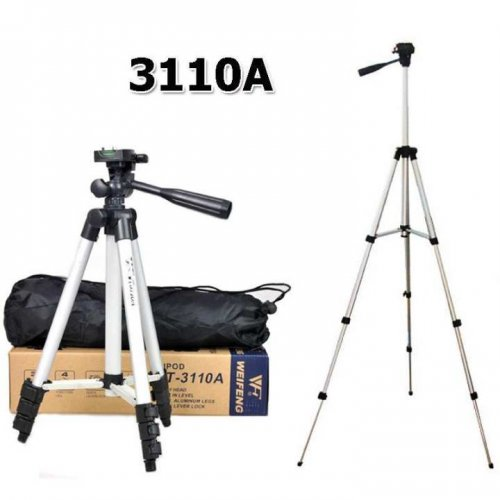 """3110A Aluminum Alloy Tripod For Mobile and Camera """