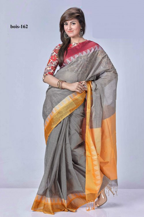 tat cotton saree bois-162
