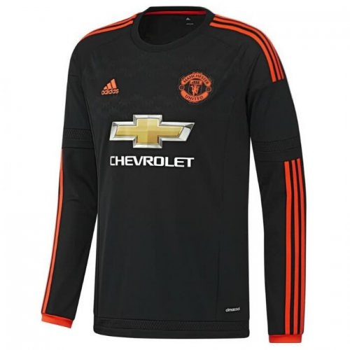 Manchester United 3rd kit long sleeve Jersey