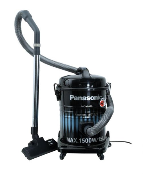 Panasonic MC-YL690 Dram Type 1500W Vacuum Cleaner 15L - Black