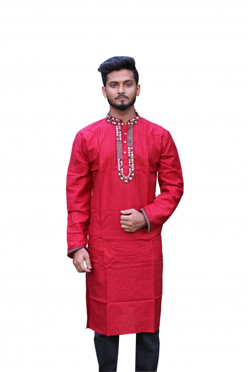 Boisakhi Cotton Punjabi for man BASE_15