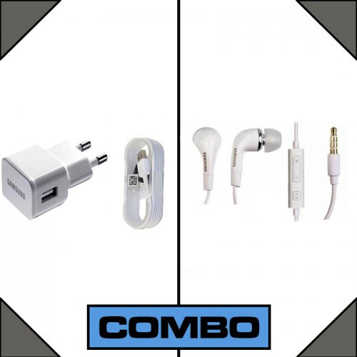 Combo of Samsung Charger + Earphone