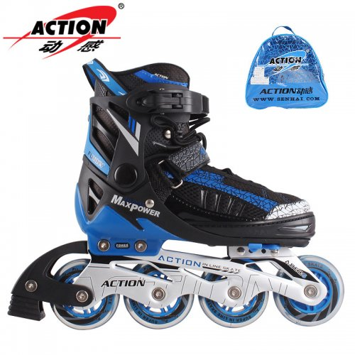 Action Inline skater - Black and blue