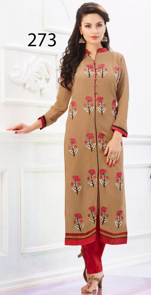 Latest Designers Kurti party wear ladies salwar suits 273