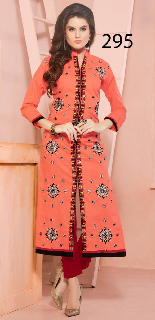 Latest Designers Kurti party wear ladies salwar suits 295