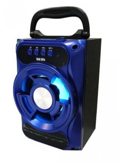 KTS-1018A Stereo Portable Wireless Speaker - Blue