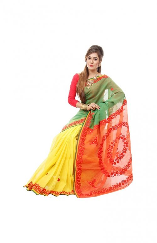 cotton kota saree SM-10