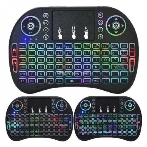 Mini Bluetooth Keyboard and Touch-pad Mouse