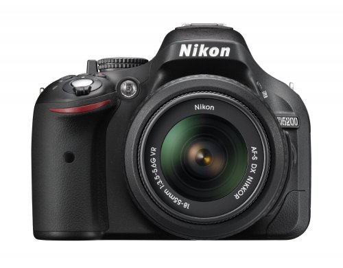 Nikon D5200 with 18-55mm VR II kit lens
