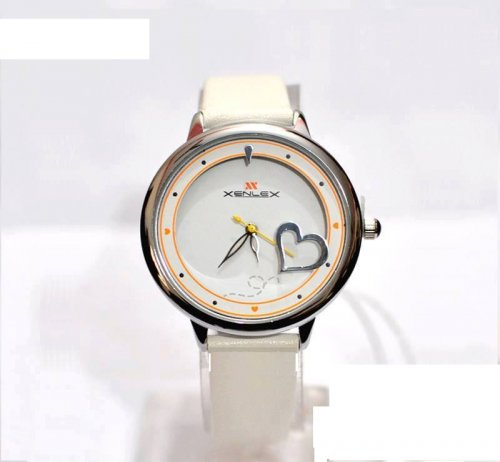 xenlex ladies watch white