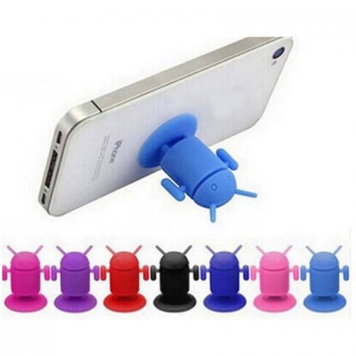Android Robot Mobile Holder Stand For Iphone 4/4s/touch/ipad/mp4
