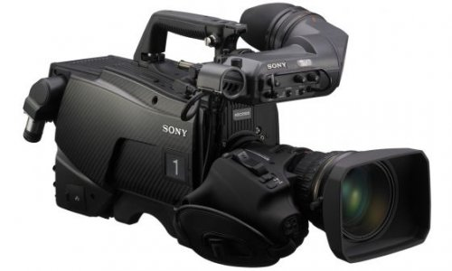 Sony HDC-2500 3G double-speed multi format HD system camera