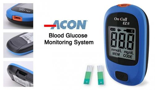 On-Call EZ II Blood Glucose Monitoring System EZ II meter