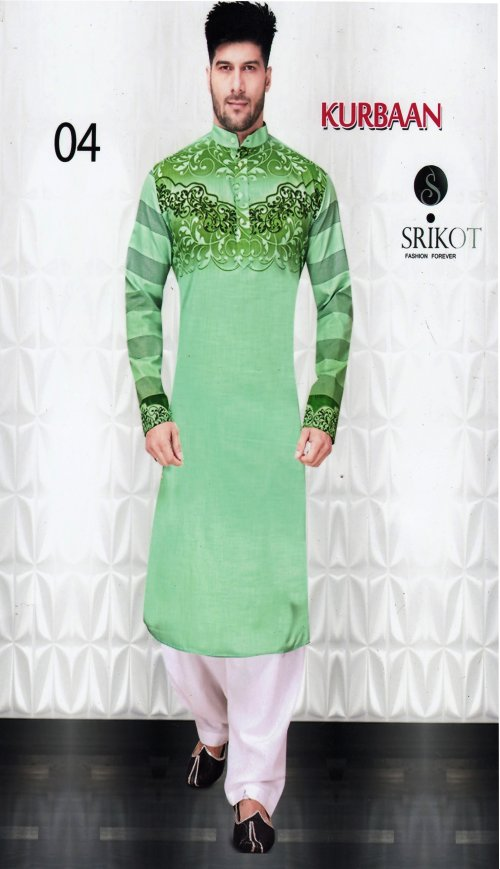 Indian Fashionable panjabi kurban 4